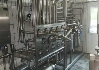 Kupplungsplatte mit Thermisationsanlage