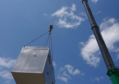 Container Dampfkessel