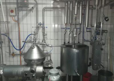 Zentrifuge und Pasteur